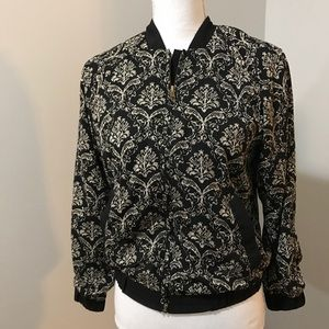 Anthropologie Elodie Bomber Jacket Size Small